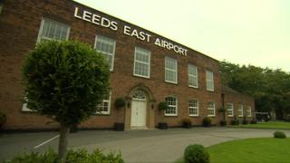 Building at Leeds East Airport