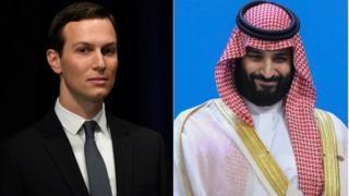 ولي العهد السعودي وكيراد كوشنير