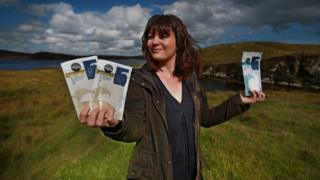 Natalie Crayton of Hebridean Sea Salt