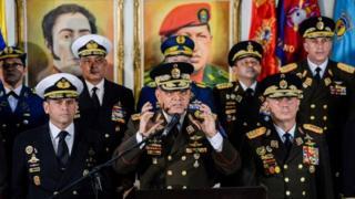 Jefes militares de Venezuela