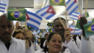 Cubanos chegando ao Brasil em 2013