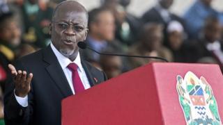 John Magufuli, le président de la Tanzanie exige le paiement de 190 milliards de taxes minières à Acacia