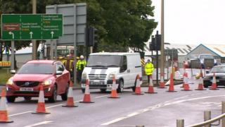 Gateshead traffic