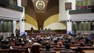 انتخاب جنجالی رئیس مجلس نمایندگان افغانستان