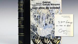 Portada de la primera edición de Cien Años de Soledad