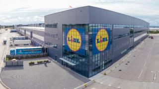 Lidl distribution centre at Newhouse