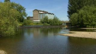 River Derwent, off Raynesway, Derby