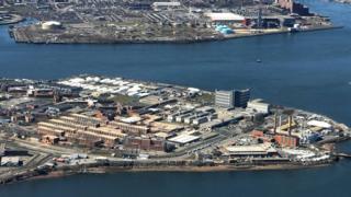 Rikers Island prison complex