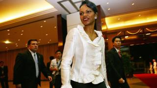 Ngoại trưởng Mỹ Condoleeza Rice dự Apec ở Hà Nội hôm 17/11/2006
