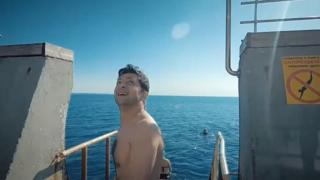 Володимир Зеленський збирається купатися у морі, Одеса, 13 липня 2019