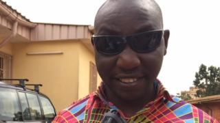 Michel Foseu: Blind person no bi know maths figures laik triangle