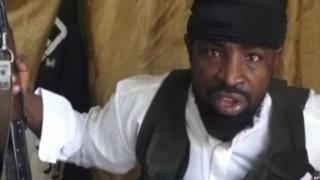 Kiongozi wa kundi la Boko haram Abubakr Shekau