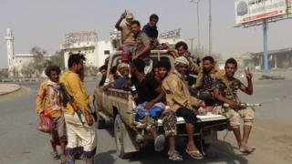 pro-government forces in Hudaydah