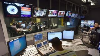BBC Radio election night in 2015