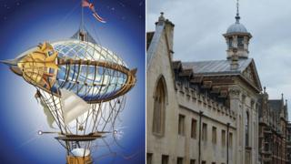 Airship and Pembroke College