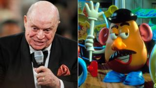 Don Rickles and Mr Potato Head