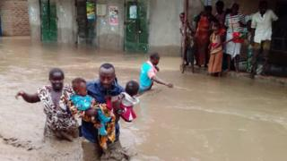 Uganda floods: At least 16 people dead, Red Cross says