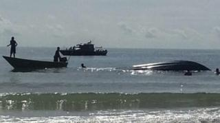 Kapal pengangkut TKI terbalik dan tenggelam di perairan Malaysia Juli 2016