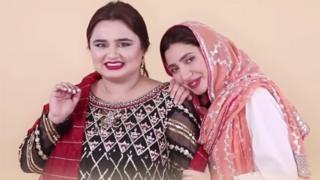 ماہرہ خان اور فائزہ سلیم