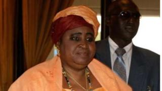 Makamu wa rais wa Gambia Isatou Njie-Saidy