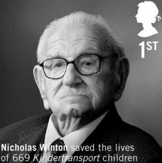 Sir Nicholas Winton stamp