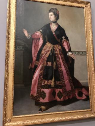 泰特美术馆收藏的油画 ——叶慈夫人。