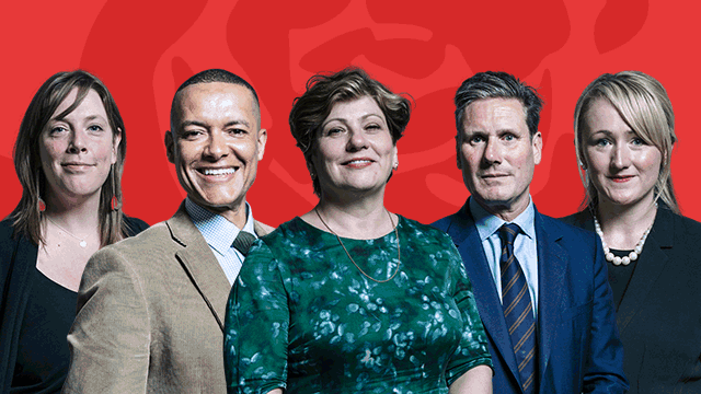 Five possible Labour leadership candidates
