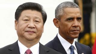 Цзиньпин и Обама