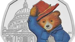 Paddington at St Pauls 50p coin