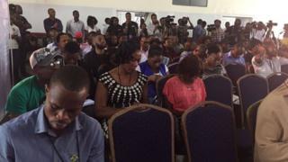 Wasu mahalarta taron shafukan sada zumunta a Lagos