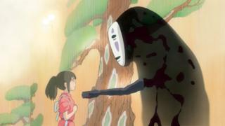 A scene from Spirited Away