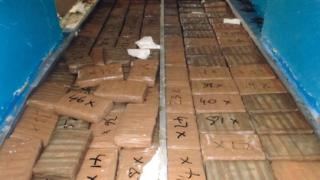 Packages of cocaine in the rear of van