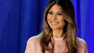 Melania Trump speaks in event in Berwyn on 3 November 2016