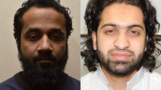 Syed Hoque (left) and Mashoud Miah