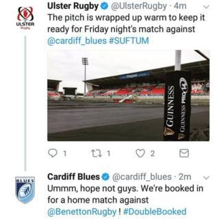 Ulster tweet