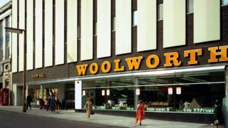 Woolworths, Barnsley store, South Yorkshire, 1970s