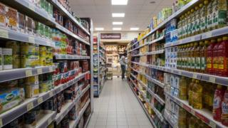 İtalya'da bir süpermarket