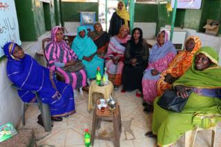 Sudanese tea ladies in Khartoum