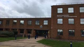 Bedfordshire police headquarters