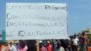 Jean Pierre Fabre, chef de file de l'opposition, a dit au président que les députés n'ont pas l'esprit à travailler sur le budget national.