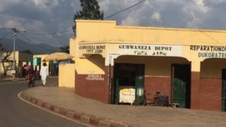 Mitaa ya mji wa Bugarama uliopo katika kati ya nchi tatu: Rwanda, Jamuhuri ya Kidemokrasi ya Kongo na Burundi