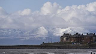 Arran from Troon