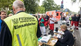 Франкфуртские пожарные