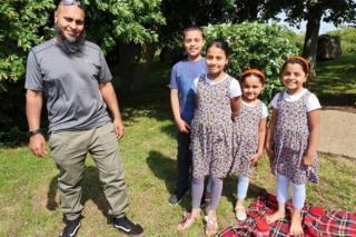 Atiq Rahman and family