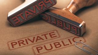 Public private rubber stamps