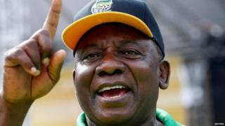 Cyril Ramaphosa has spoken out strongly against state corruption