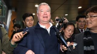 스티븐 비건 대북정책특별대표가 6일 평양을 방문한다