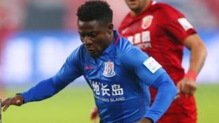 Obafemi Martins a marqué à l'aller comme lors du match retour de la finale de la Coupe de Chine.