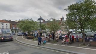 Horncastle town centre