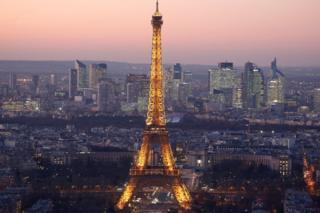 Париж в ноябре 2016 года